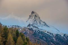 Matterhorn - Ελβετία Στοκ εικόνες με δικαίωμα ελεύθερης χρήσης