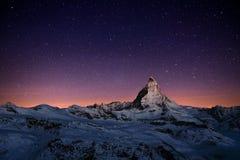 matterhorn Ελβετία Στοκ εικόνα με δικαίωμα ελεύθερης χρήσης