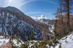 matterhorn Швейцария Стоковые Изображения