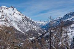 matterhorn Швейцария Стоковое Изображение RF
