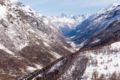 matterhorn Швейцария Стоковая Фотография RF