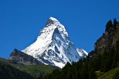 Matterhorn Royalty-vrije Stock Foto's