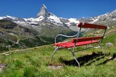 Matterhorn. Beautiful mountain Matterhorn - Swiss Alps Royalty Free Stock Photo
