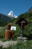 Matterhorn Royaltyfria Foton
