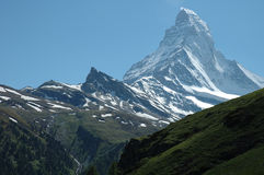 Matterhorn Royaltyfria Bilder
