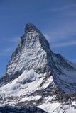 Matterhorn. East wall of Matterhorn from Swiss side Stock Image