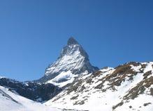 Matterhorn. Mountain peak Matterhorn, sight from Switzerland Stock Image
