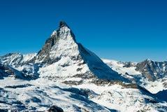 Matterhorn Imágenes de archivo libres de regalías