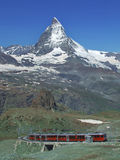 Matterhorn. From Gornergrat (Swiss alpen royalty free stock image