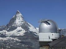 Matterhorn. From Gornergrat (Swiss alpen Stock Image