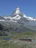 Matterhorn. From Gornergrat (Swiss alpen stock photography