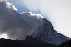 Matterhorn Lizenzfreies Stockbild