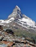Matterhorn - alpi svizzere Fotografia Stock