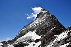 Matterhorn - alpi svizzere Immagine Stock