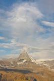 Matterhorn, alpi svizzere Immagini Stock