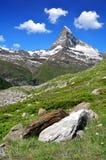 Matterhorn - alpi svizzere Fotografie Stock Libere da Diritti