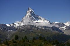 Matterhorn, alpi svizzere, Svizzera Fotografie Stock Libere da Diritti