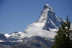 Matterhorn, alpi svizzere, Svizzera Fotografie Stock