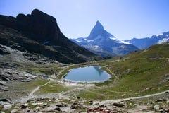 Matterhorn, alpi svizzere, Svizzera Immagini Stock