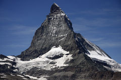 Matterhorn, alpi svizzere, Svizzera Fotografia Stock Libera da Diritti