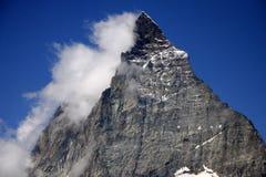 Matterhorn, alpi svizzere, Svizzera Immagini Stock Libere da Diritti