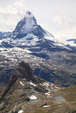 Matterhorn, Alps, Switzerland Royalty Free Stock Photo