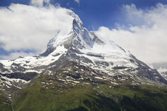 Matterhorn, Alps, Switzerland Stock Photography
