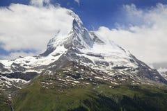 Matterhorn, Alps, Switzerland Stock Photography
