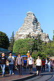 Matterhorn Bobsleds at Disneyland Royalty Free Stock Photography
