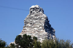 Matterhorn Bobsleds, Disneyland Fantasyland, Anaheim, California Stock Photo