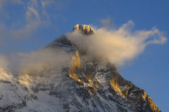 Matterhorn or Cervino Royalty Free Stock Image