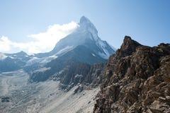 Matterhorn, die Schweiz Stockfotos