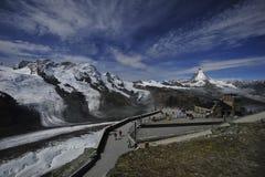 Matterhorn, die Schweiz Lizenzfreie Stockfotos