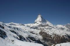 Matterhorn, die Schweiz Lizenzfreie Stockfotografie