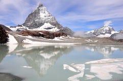 Matterhorn. Die Schweiz. lizenzfreie stockbilder