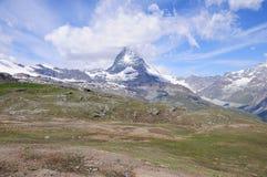 Matterhorn. Die Schweiz. stockbilder