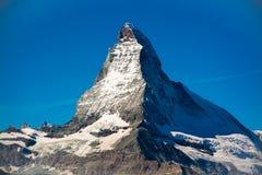 Matterhorn, die Schweiz Stockbilder