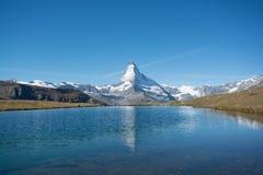 Matterhorn, die Schweiz Lizenzfreie Stockbilder