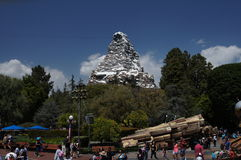 The Matterhorn at Disneyland Stock Photography