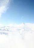Matterhorn en invierno Imagenes de archivo