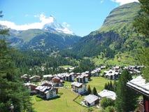 Matterhorn est impressionnant, le vérifient  photos libres de droits