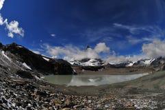 Matterhorn in fisheye Stock Photo