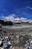 Matterhorn in fisheye Stock Photography