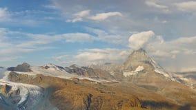 Matterhorn Glacier Paradise Stock Photos