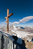 matterhorn gletsjerparadijs Royalty-vrije Stock Afbeeldingen