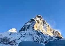 Matterhorn härlighet arkivbilder