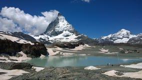 Matterhorn im Sommer Lizenzfreies Stockfoto