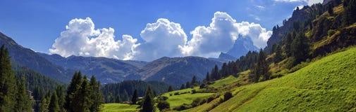 Matterhorn landscape, Switzerland Stock Image