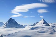 Matterhorn landskap Royaltyfri Bild