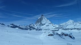 Matterhorn : Le bijou des Alpes suisses Images libres de droits